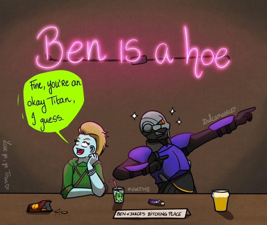 Ben is a hoe