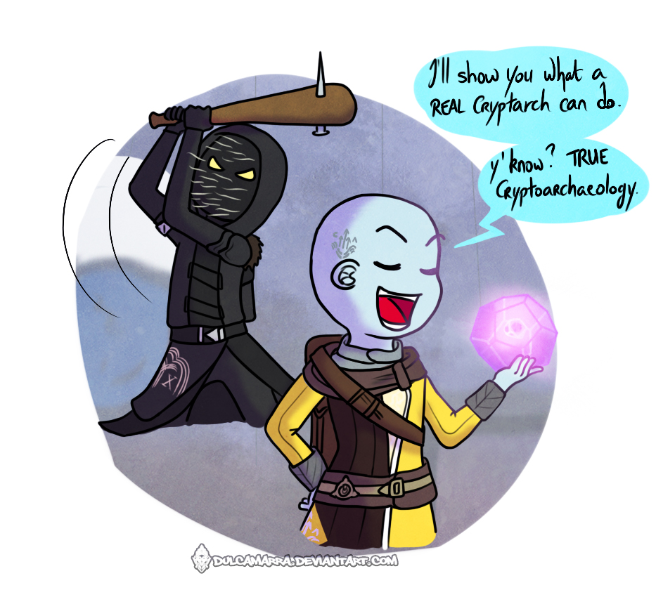 Master Ives being hit by Xur