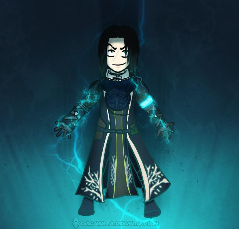 Warlock in Storm Trance