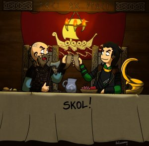 Loki and Floki Vikings