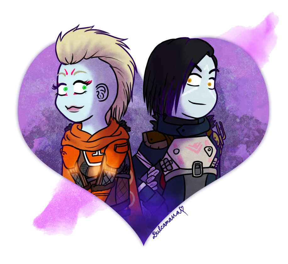 Prince Uldren and Brigitte