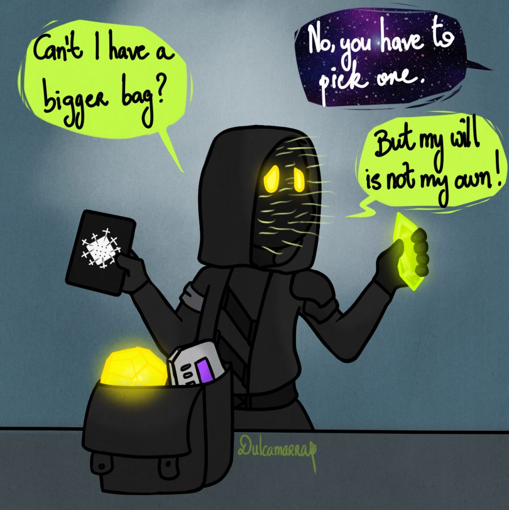 Xur doesn't have enough room in his bag