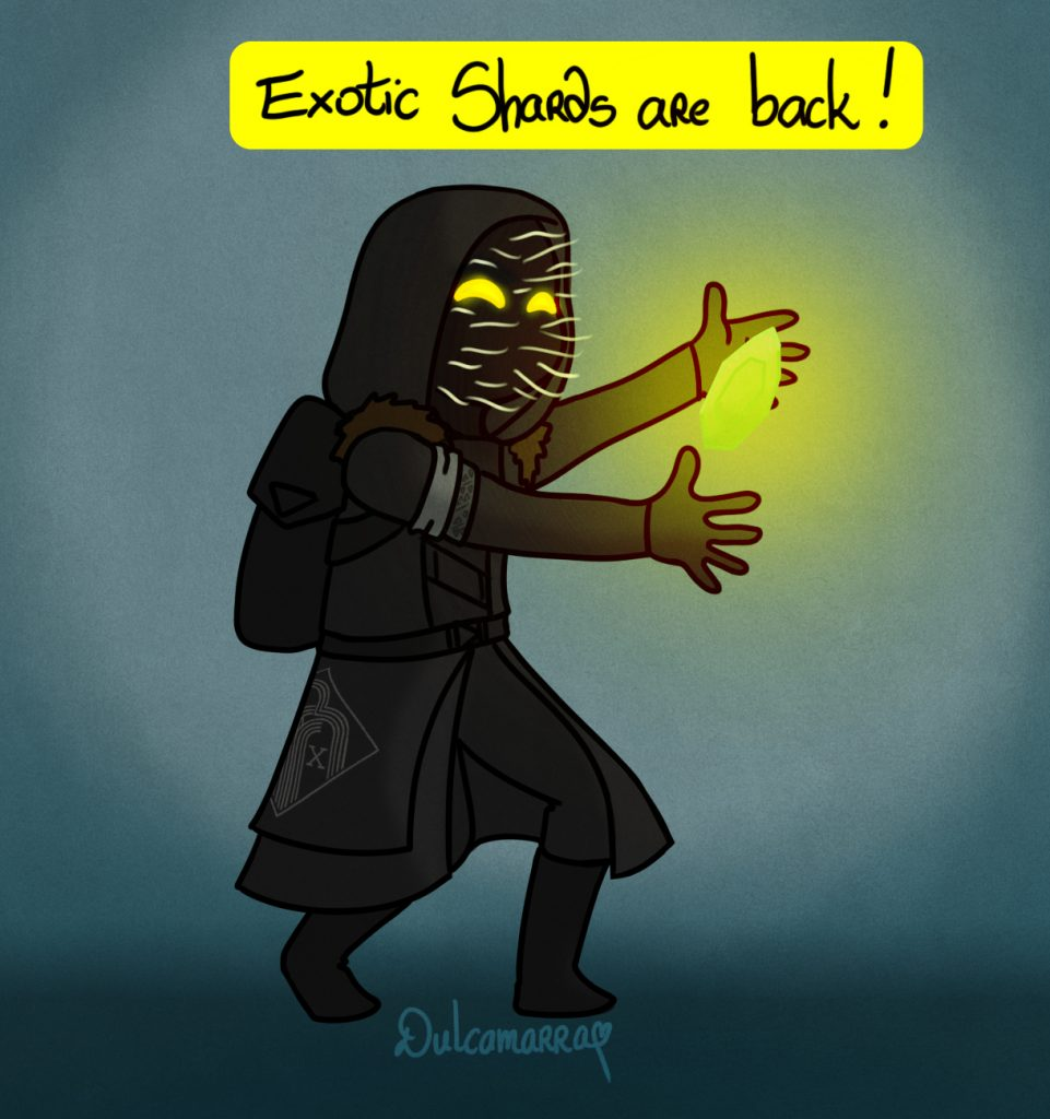 Xur and an exotic shard