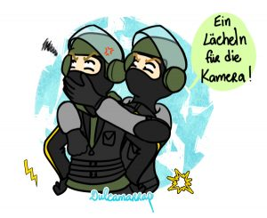 Blitz and Bandit from Rainbow Six Siege