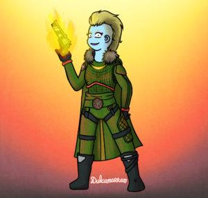 Gunslinger Brigitte the Awoken huntress