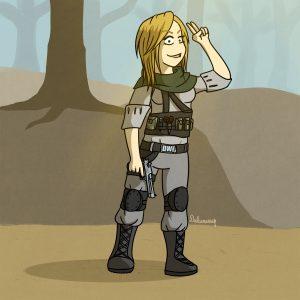 Battlefield Soldier Molly