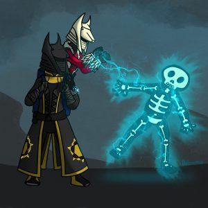 Two warlocks in Crucible