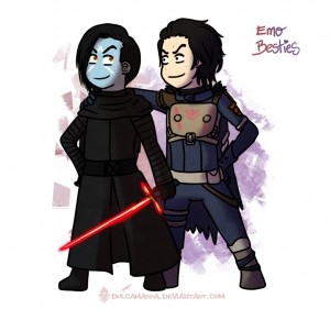 Kylo Ren and Uldren Sov