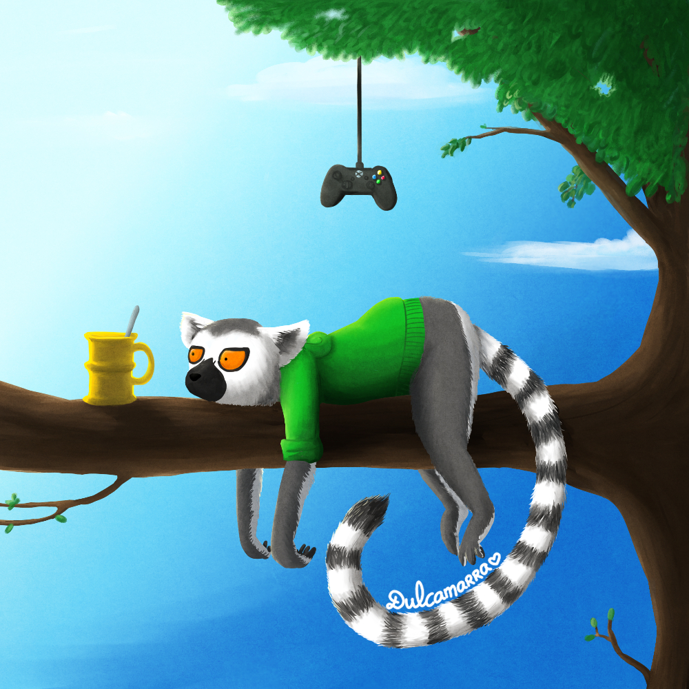 Dulcamarra as a lemur