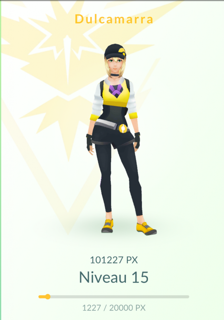Team Instinct Pokémon Go