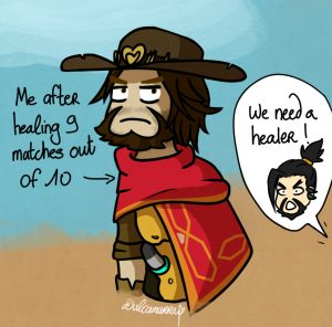McCree in a team that needs healing
