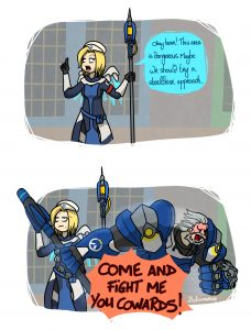 Overwatch uprising comics