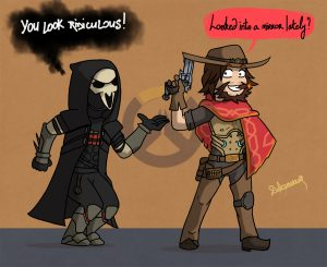 Reaper and McCree's lines
