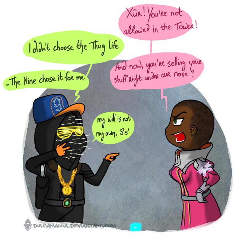 Thug life Xur