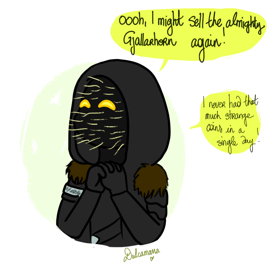 Xur's expectations with the Gjallarhorn