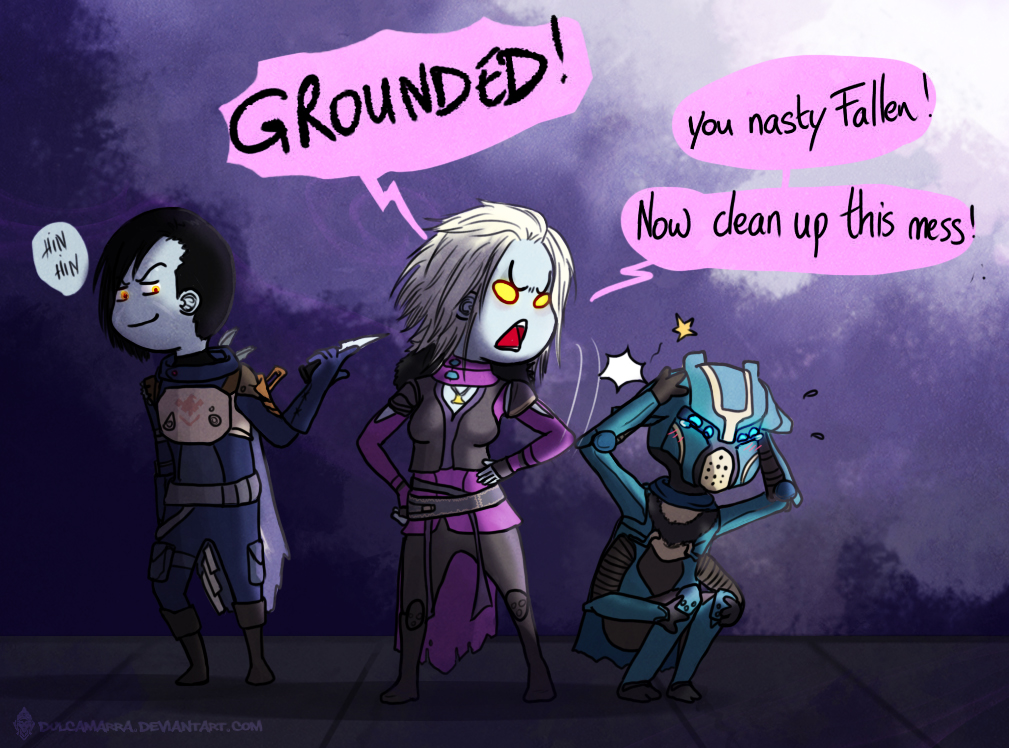 Mara Sov being pissed at a fallen vandal