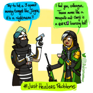 Ana Amari and Doc discuss about healing moving targets