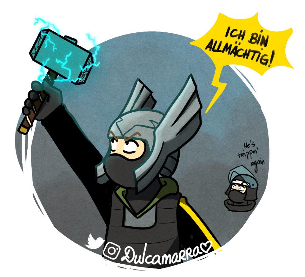 Bandit as Thor