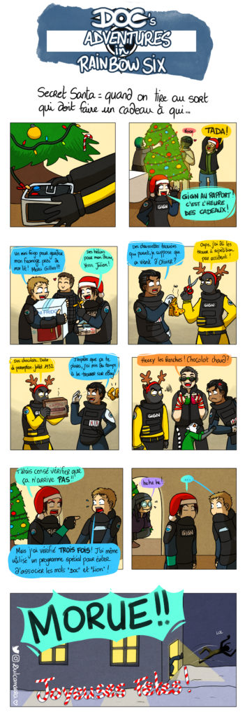Doc's Adventure: le Secret Santa du GIGN