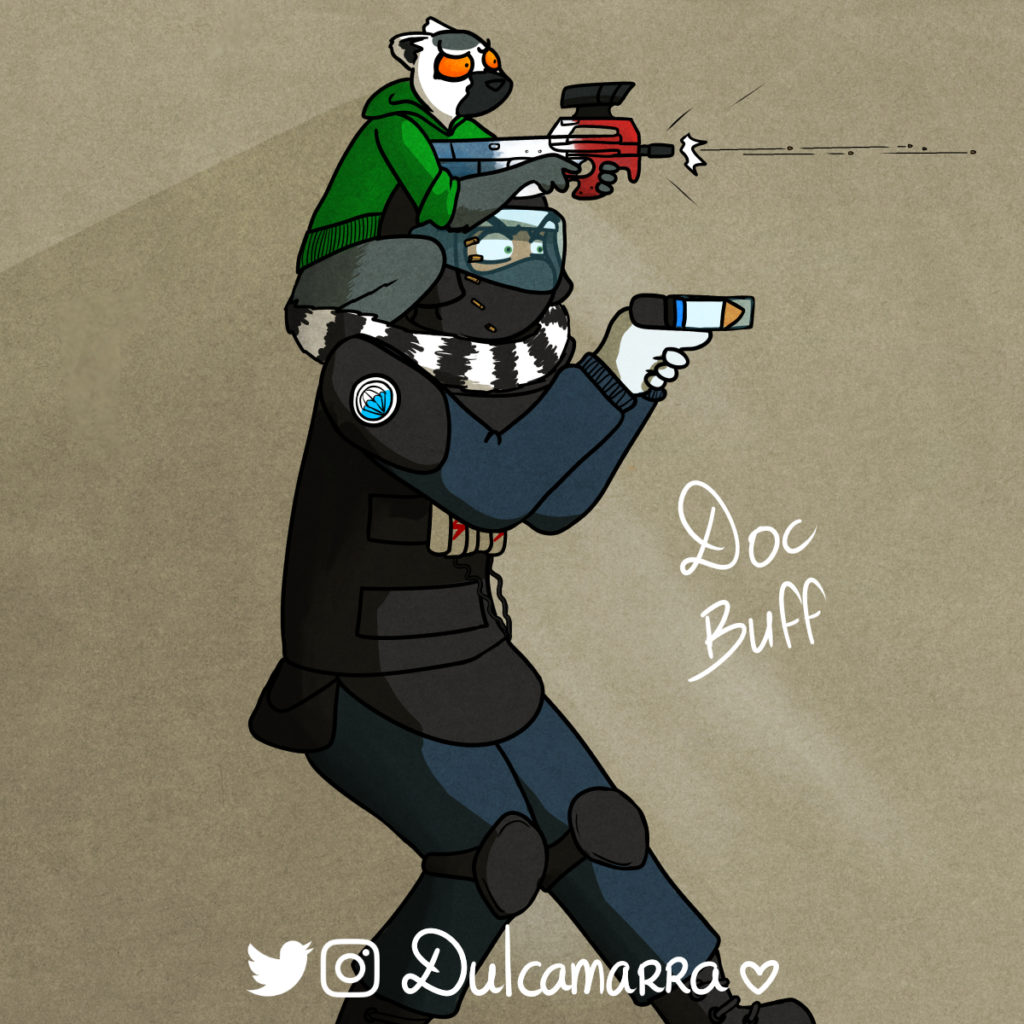 Doc's new buff