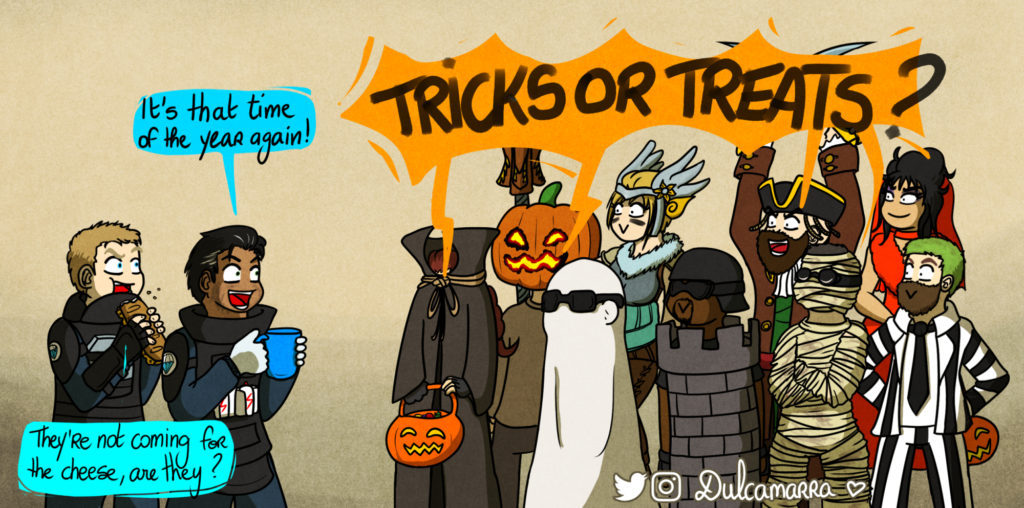 Happy Halloween from the Rainbow Six team !