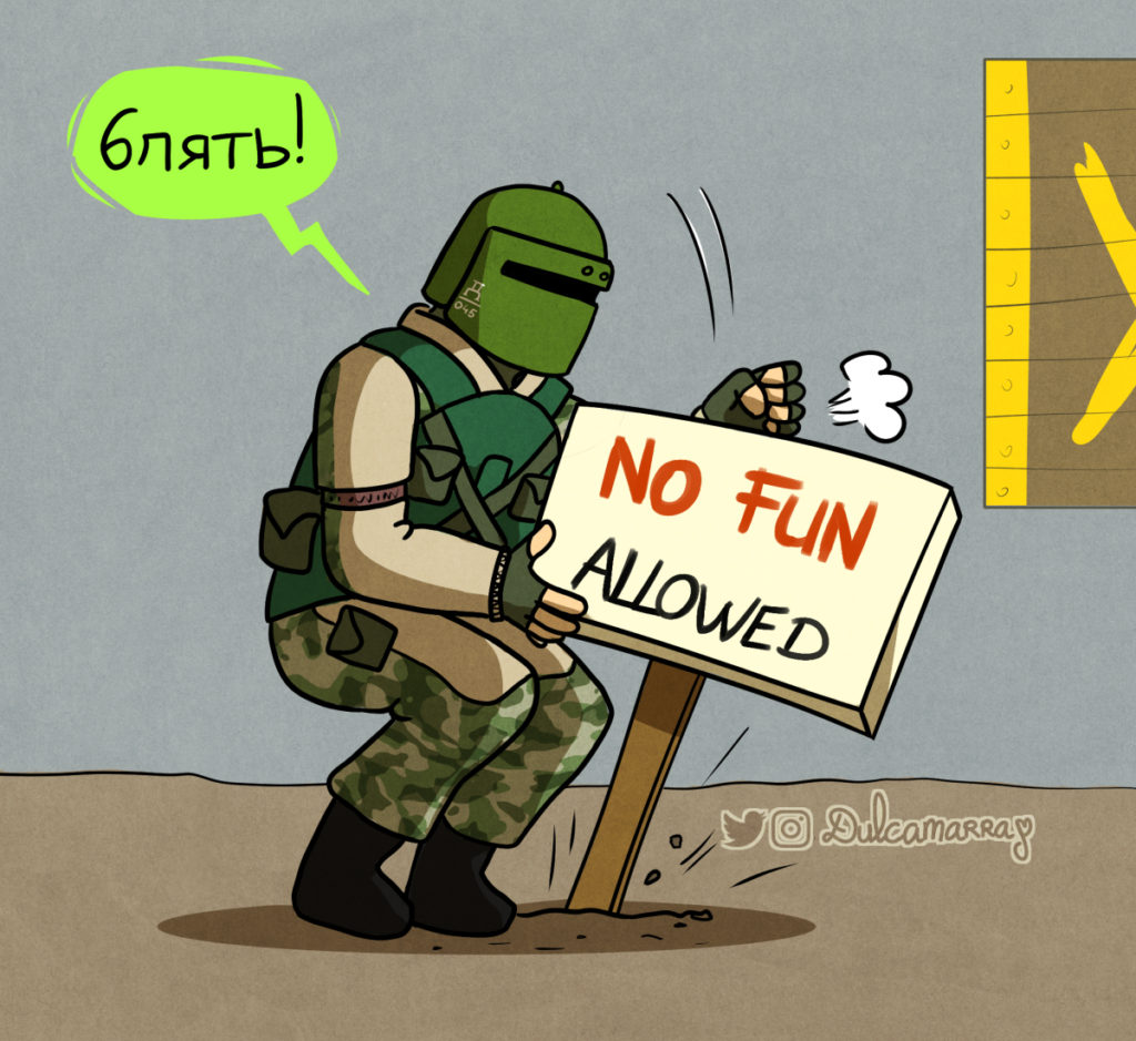 Tachanka no fun allowed