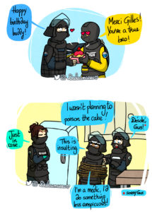 Lion's birthday in the GIGN