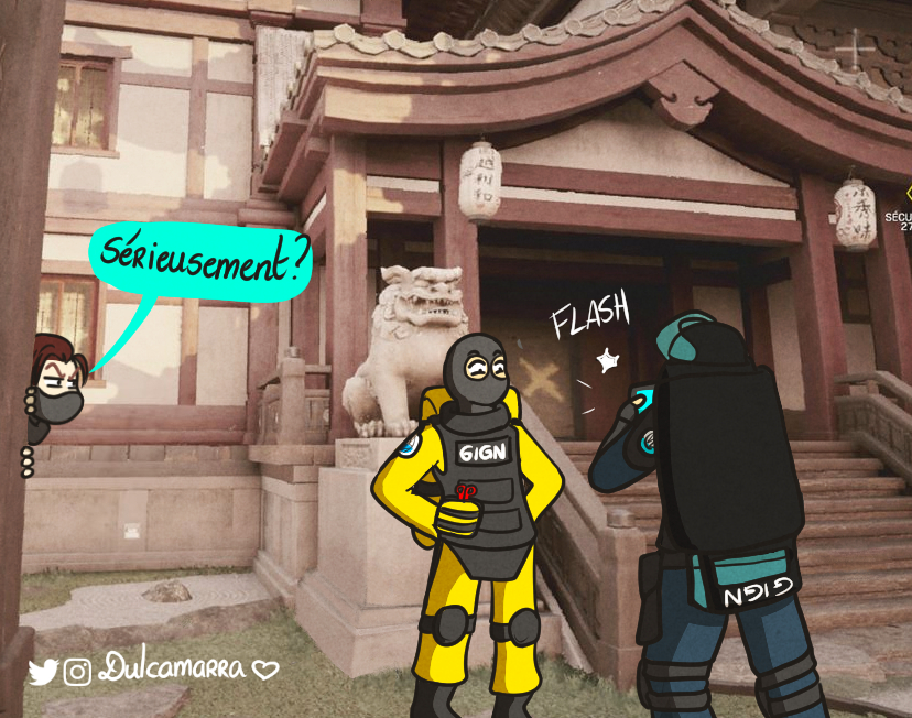 Lion and Montagne being tourists