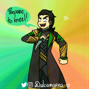 Loki is back