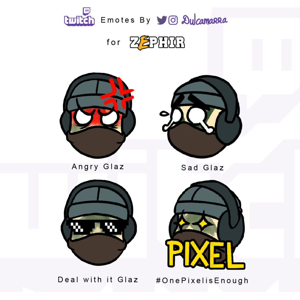 Glaz Twitch emotes