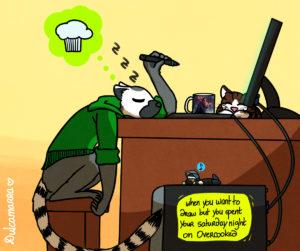 sleepy lemur dulca