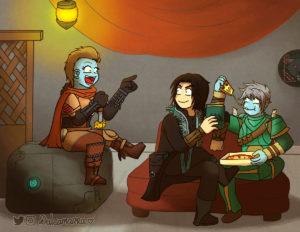 Dulcamarra's guardians
