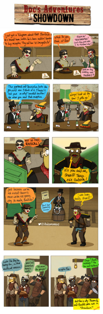 Doc's Adventure in westerns