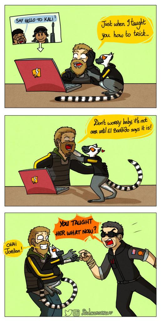 Bandit discovers Kali