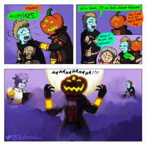 JP being the pumpkin king