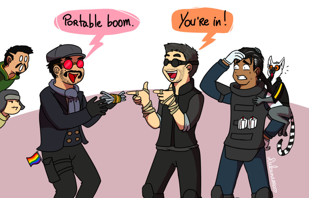 Thermite welcomes Flores in team Rainbow