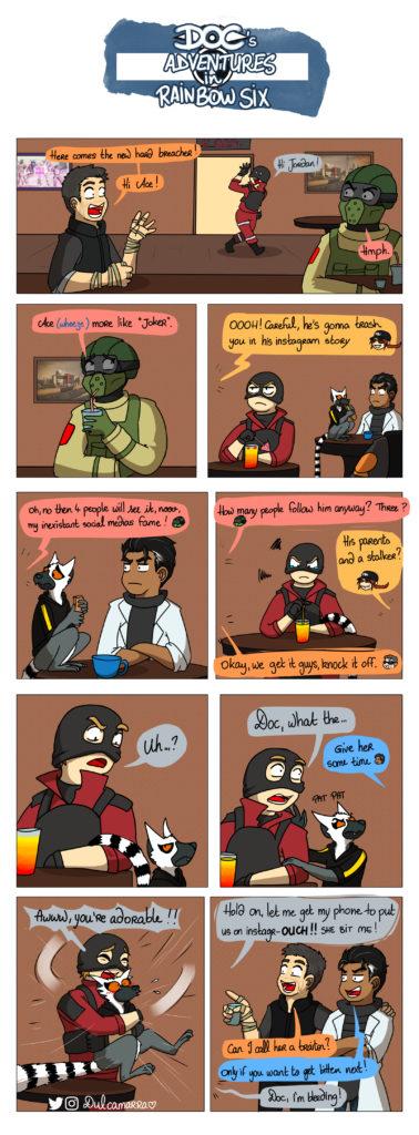 Doc's Adventure: Ace and the lemur