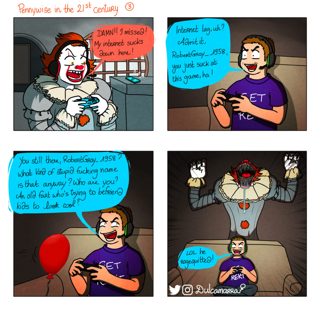 Pennywise the gamer