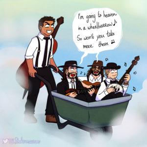 heaven in a wheelbarrow